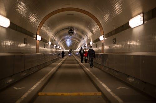 Free stock photo of Alter, Elbtunnel, Tunnel Hamburg