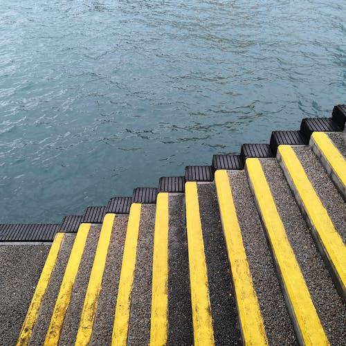 Základová fotografie zdarma na téma moře, řeka, schody