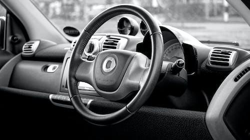 Základová fotografie zdarma na téma auto, automobil, automobilový, černobílý