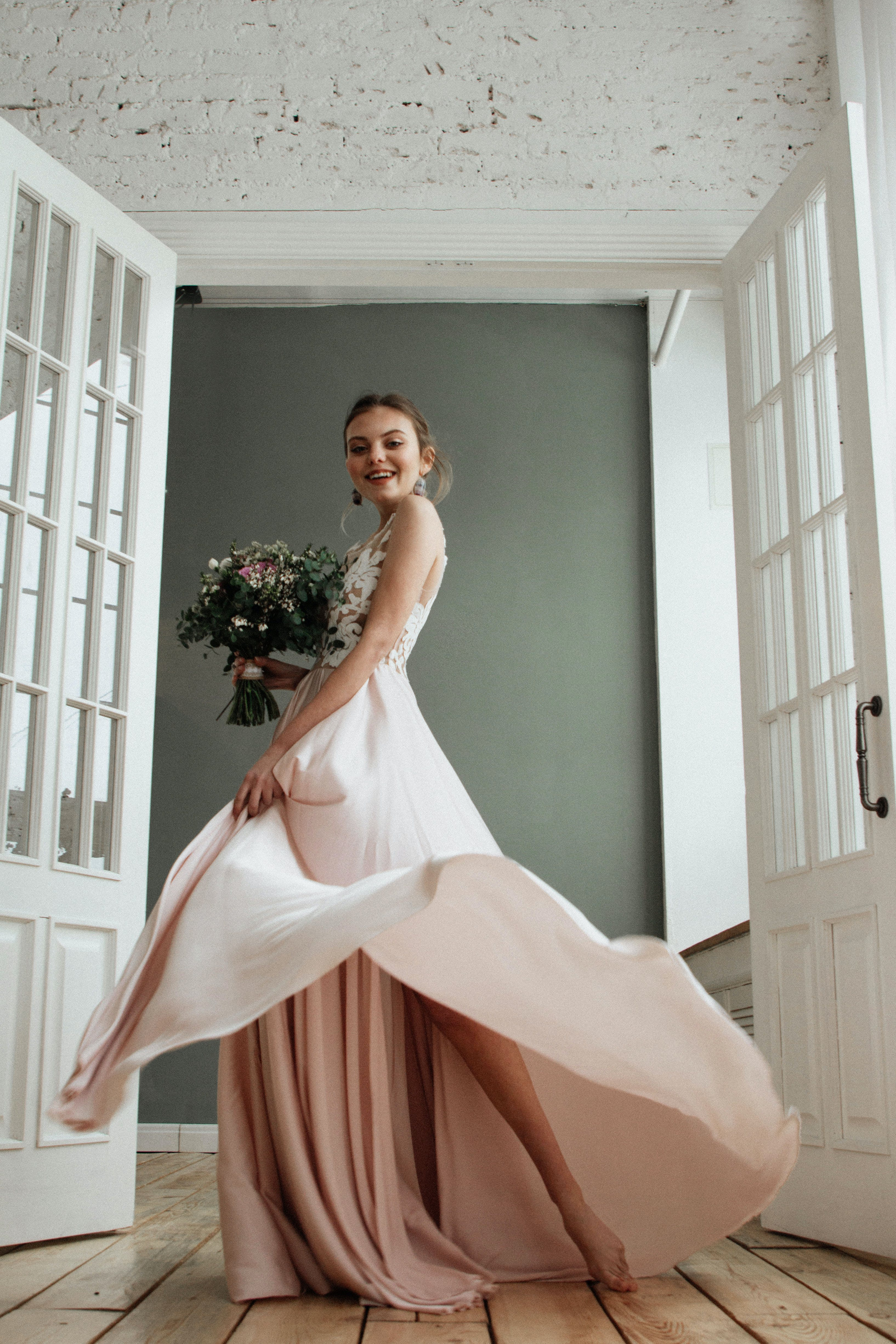 ウェディングドレス, エレガント, ドレス, 人の無料の写真素材