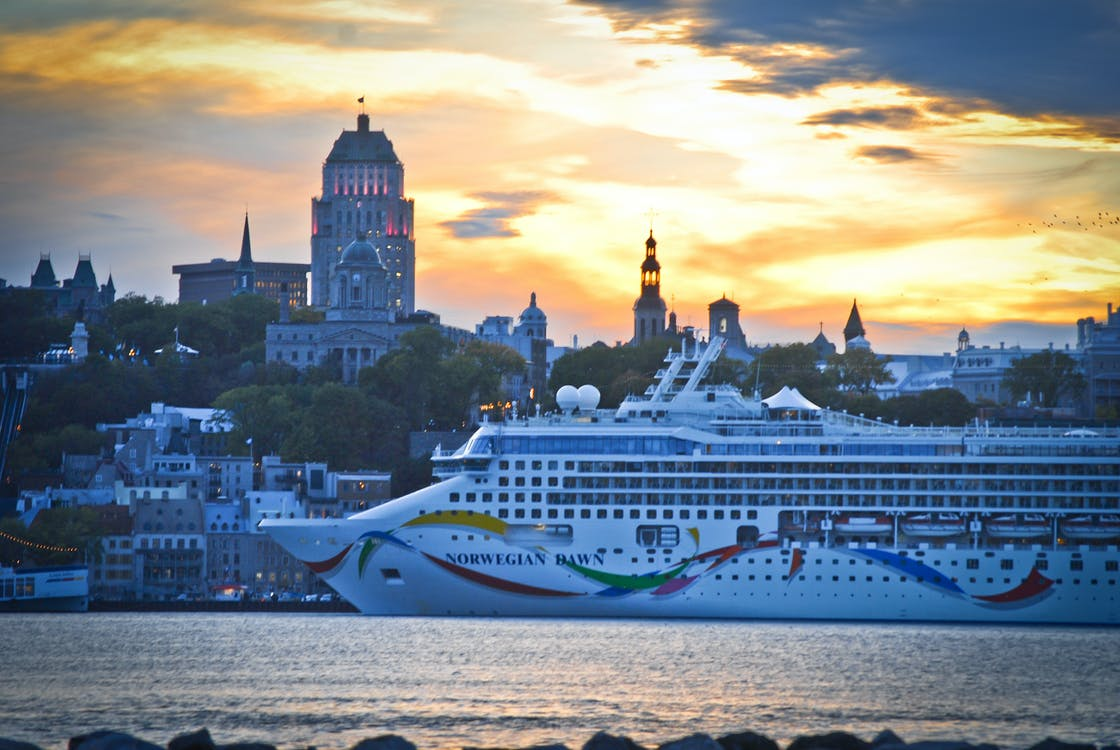 Free stock photo of norvegian cruise line, quebec, tourism