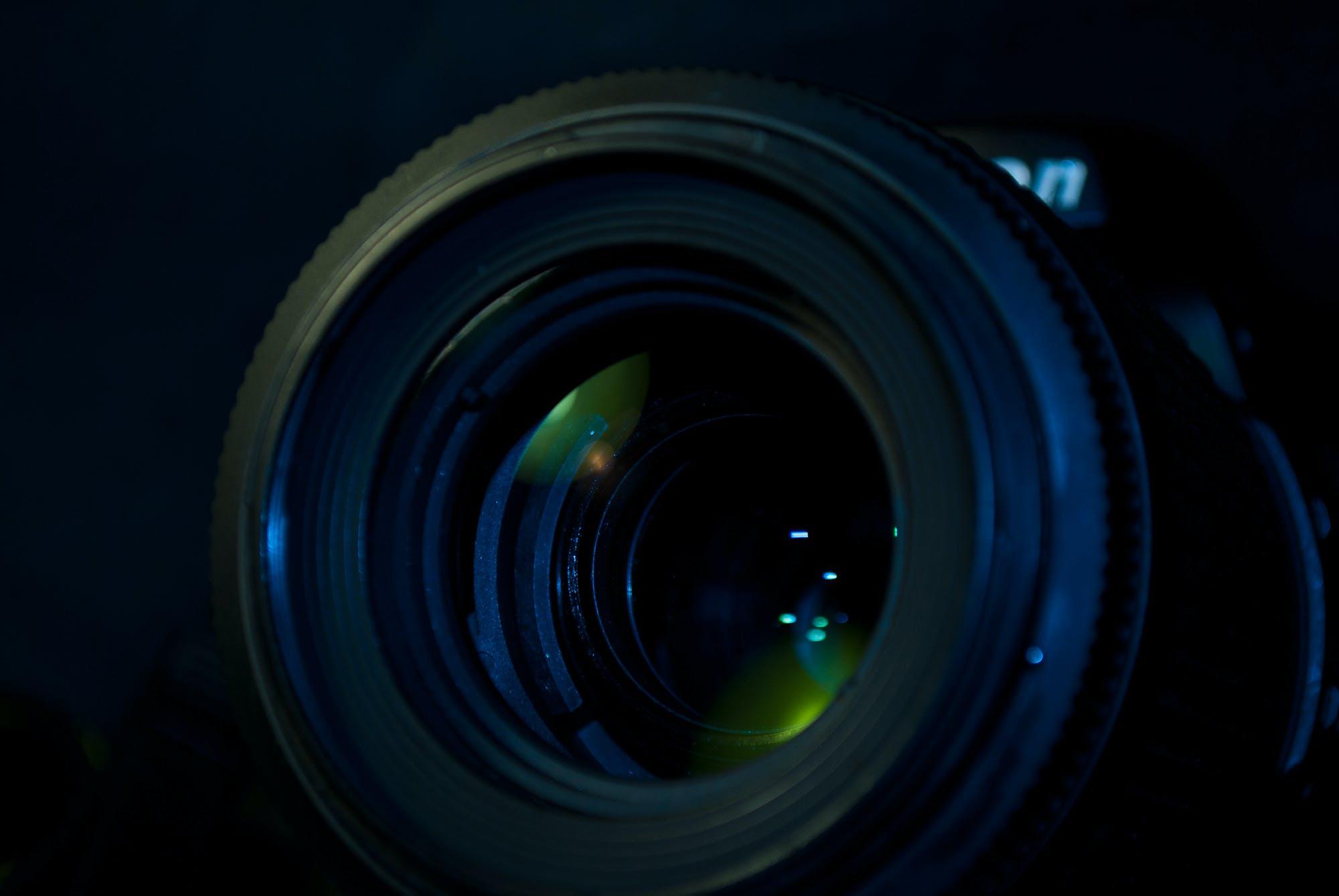 blur, camera, camera lens