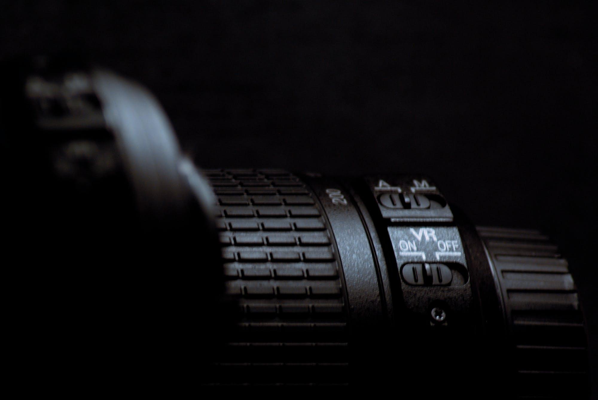 Free stock photo of nikon lens camera