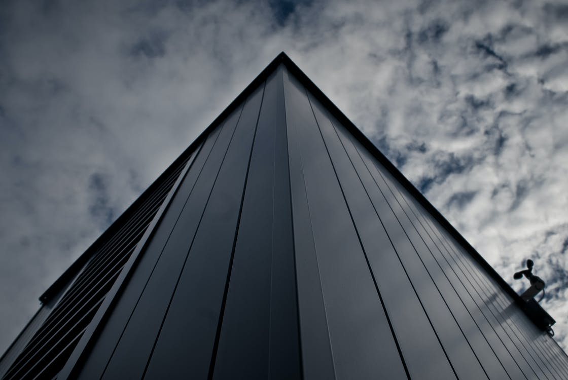 arkitektur, bygning, futuristisk