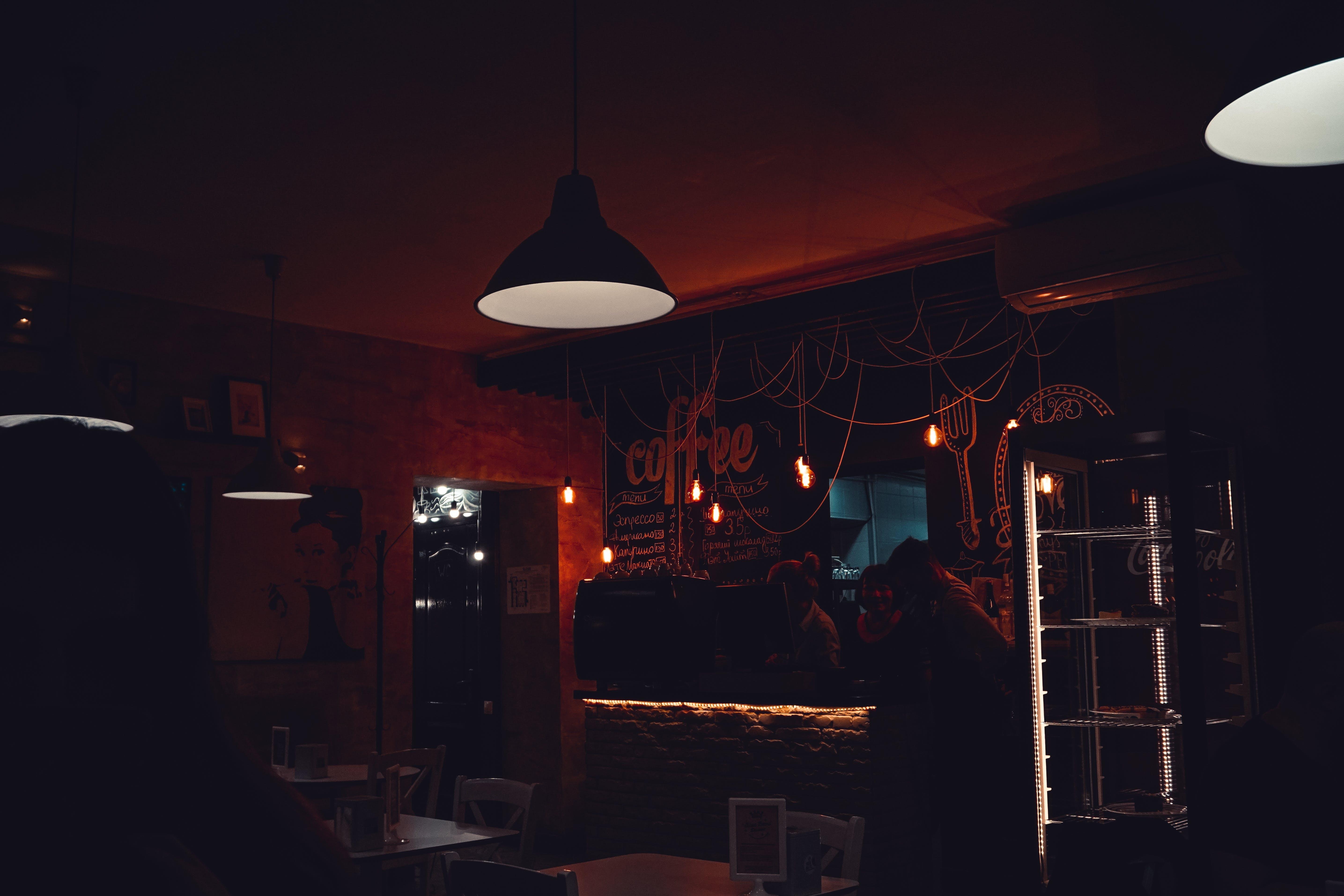 Foto profissional grátis de café, comércio, dentro, dentro de casa