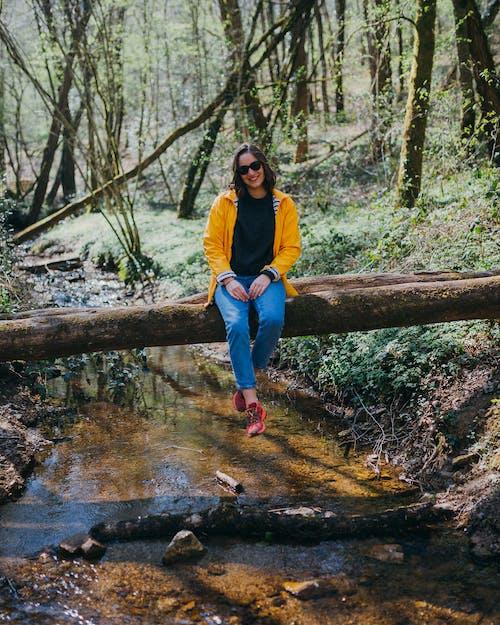 アダルト, ハイキング, パーク, モーションの無料の写真素材