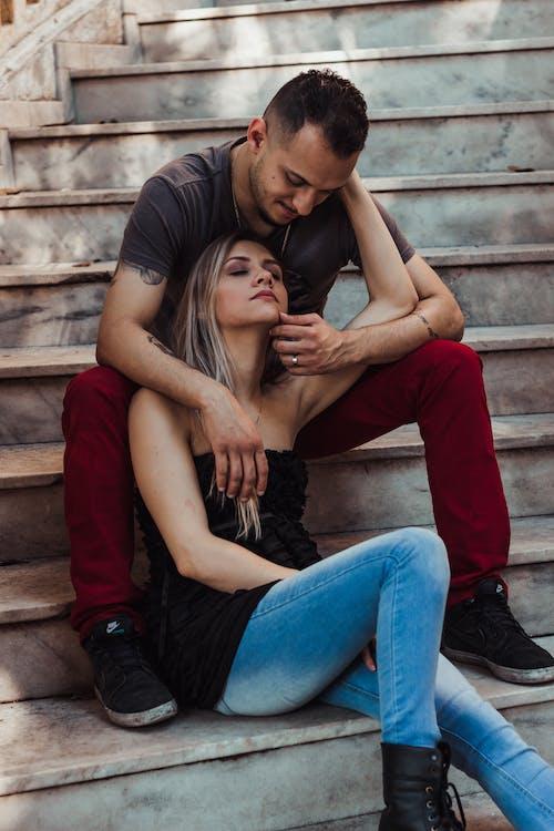 Бесплатное стоковое фото с любовь, люди, милая пара, пара