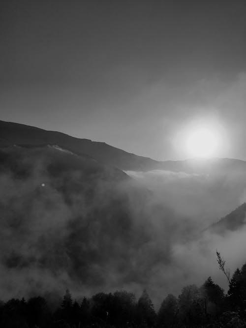 Gratis arkivbilde med åser, fjell, himmel, makro