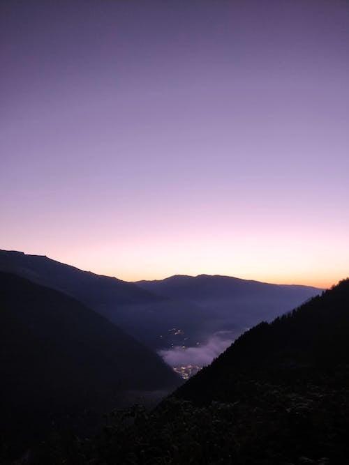 剪影, 和平的, 天性, 天空 的 免費圖庫相片