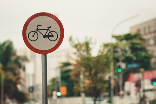 Foto stok gratis aspal, jalur sepeda, sepeda