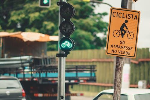 Ingyenes stockfotó aszfalt, bicikli, kerékpár, kerékpár-útvonal témában