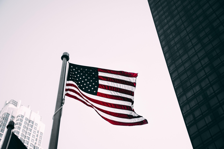 Kostenloses Stock Foto zu 4k wallpaper, amerika, amerikanische flagge, demokratie