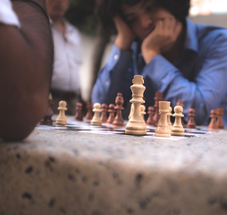 ajedrez, düşünmek, maç