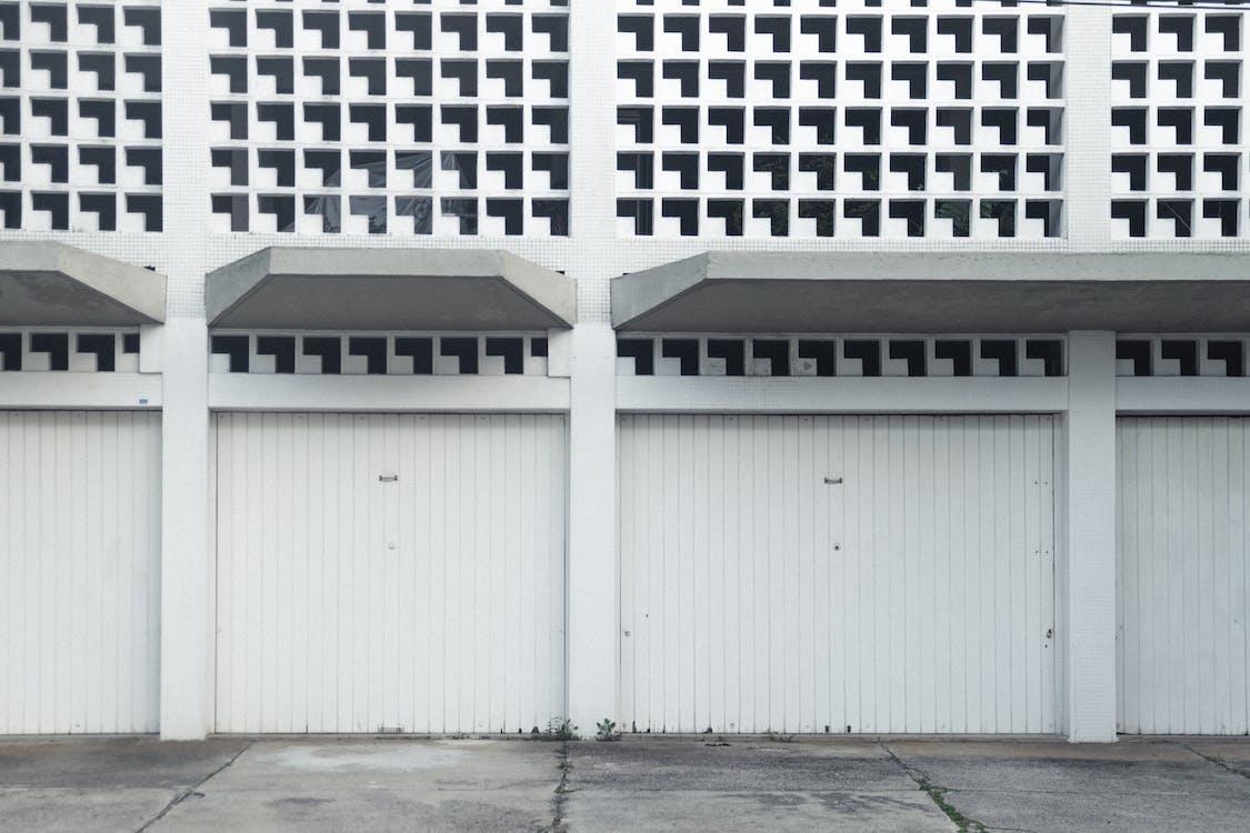 architektura, bílá, Sao Paolo