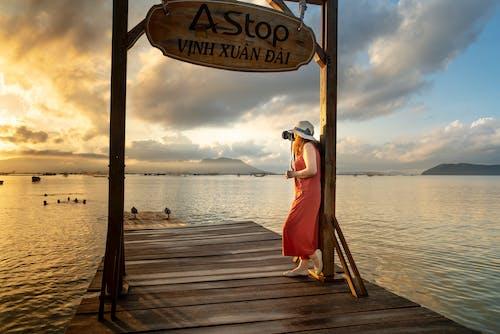 Fotos de stock gratuitas de agua, amanecer, cielo, costa