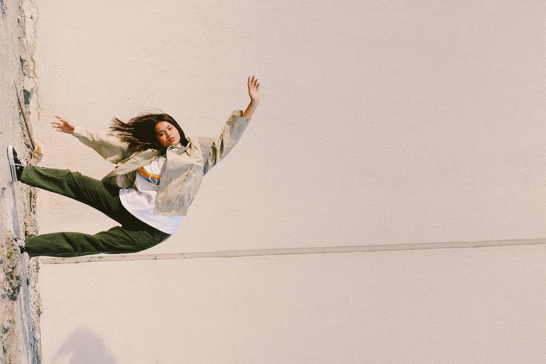 Woman Posing Sideways
