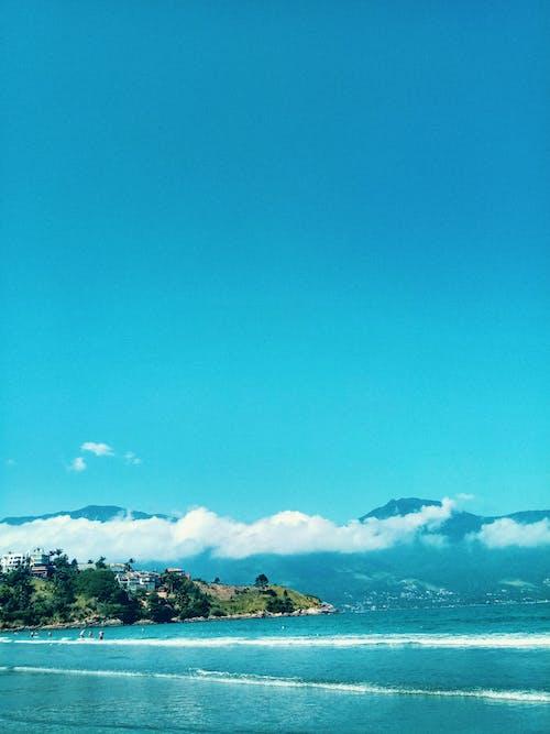 Free stock photo of aqua, beach, beach front