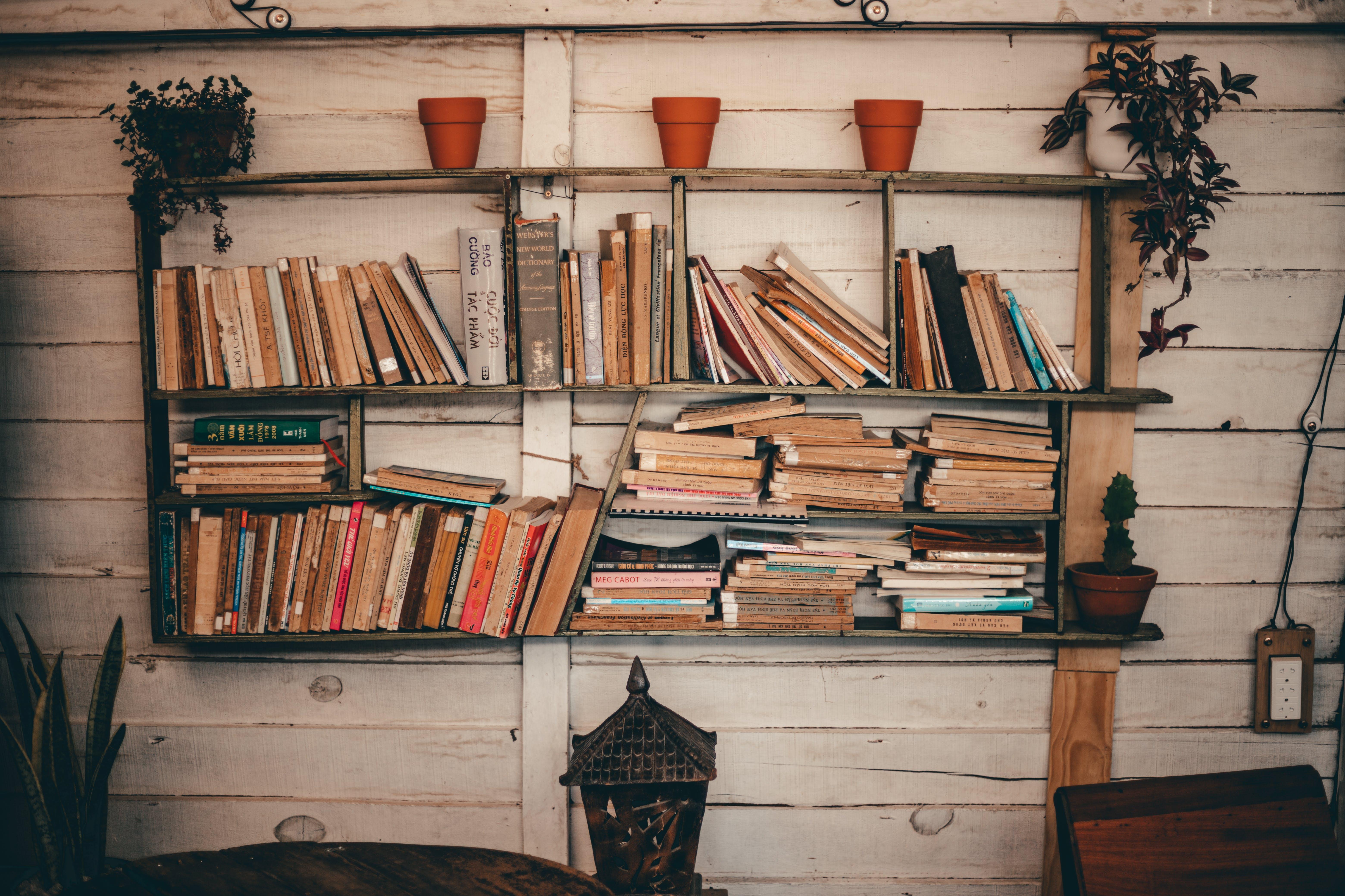 Gratis arkivbilde med bibliotek, bokhylle, bokhyller, bøker