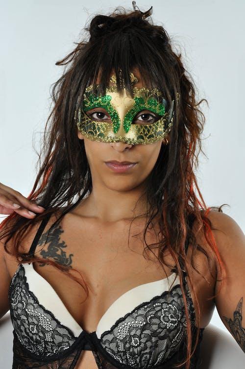 Free stock photo of mask, photography, pretty woman, Venetian