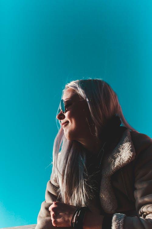 Immagine gratuita di biondo, contento, donna, estonia