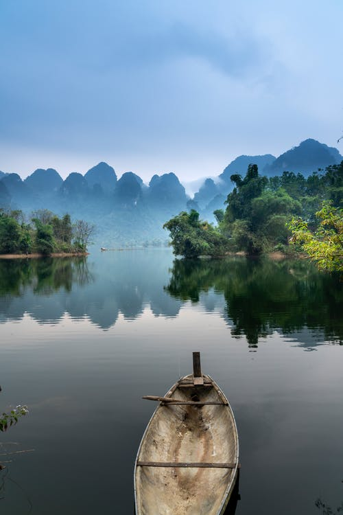 Photo of a Boat on a River