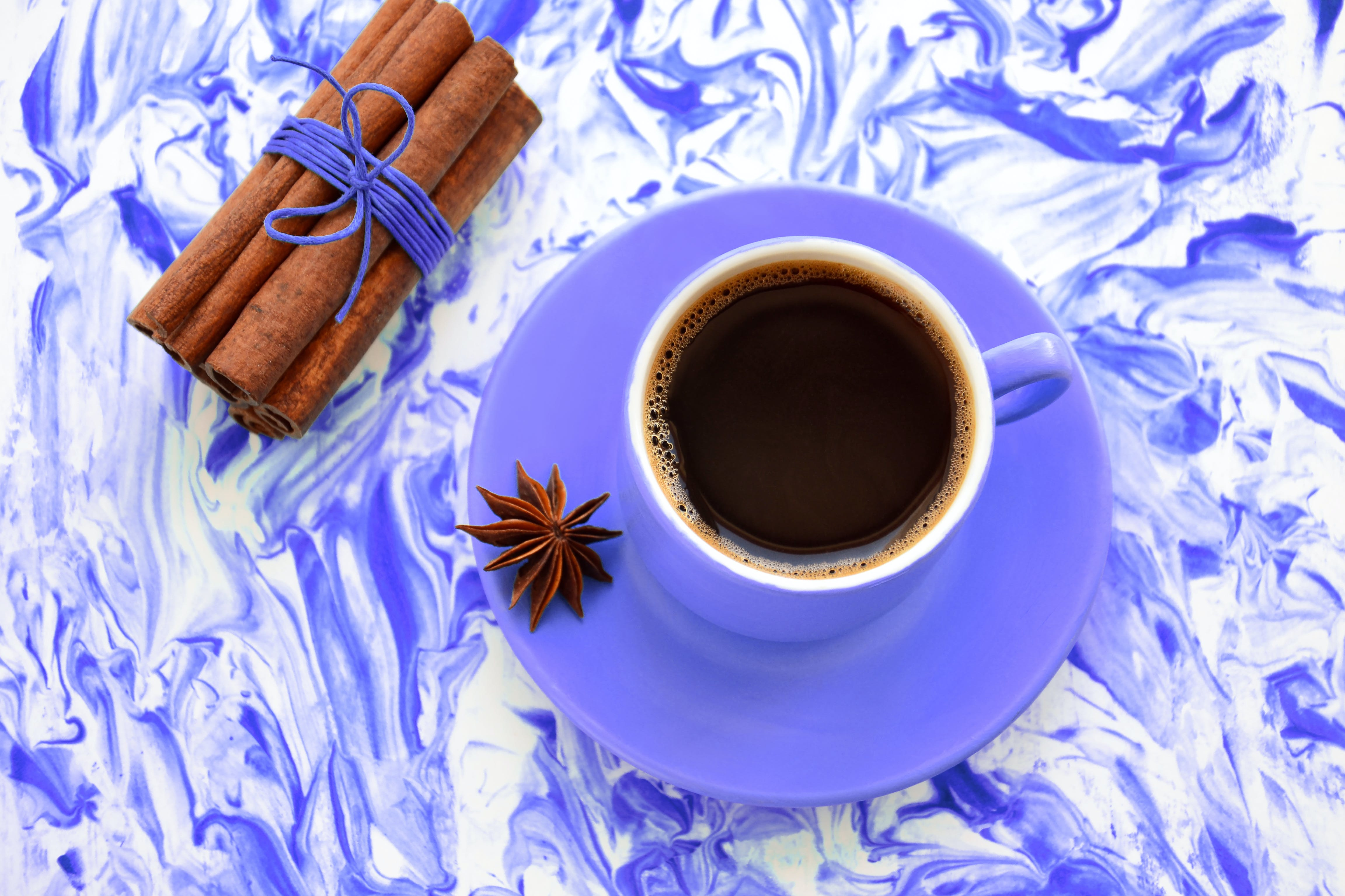 Kostenloses Stock Foto zu anis, aquarell, becher, frühstück