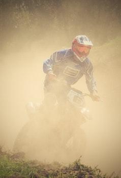Free stock photo of sport, cross, motorbike, motorcycle
