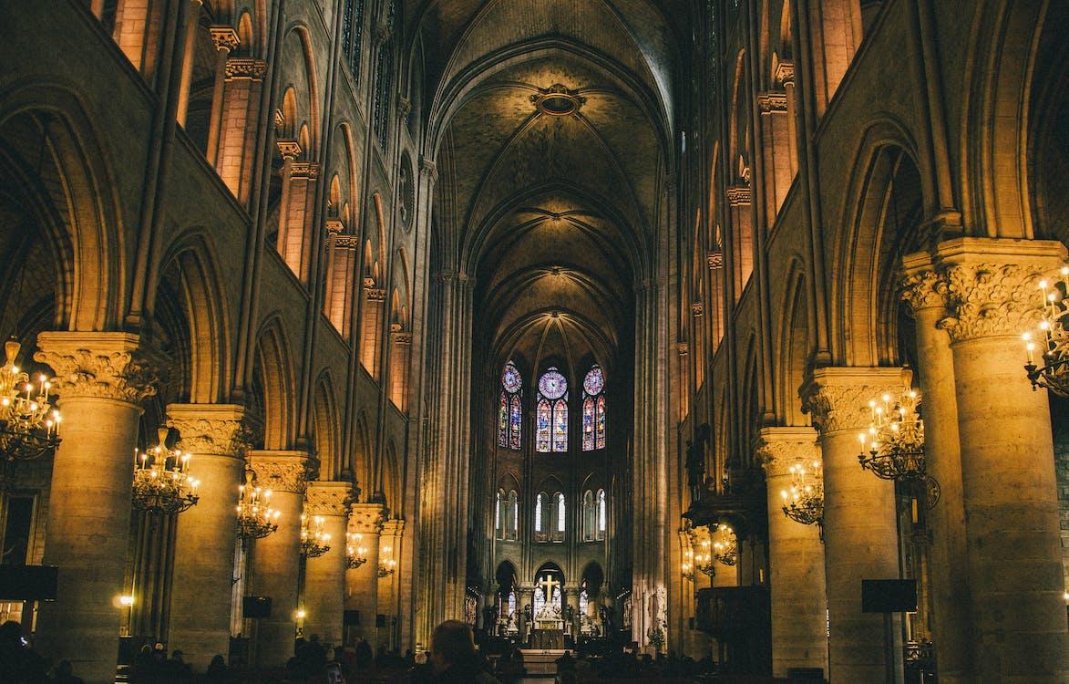 abtei, altar, architektur