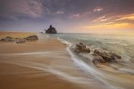 sea, landscape, beach