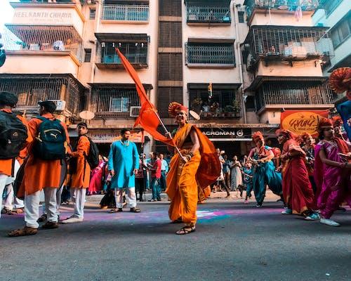 Foto profissional grátis de amontoado, animado, celebração, cerimônia