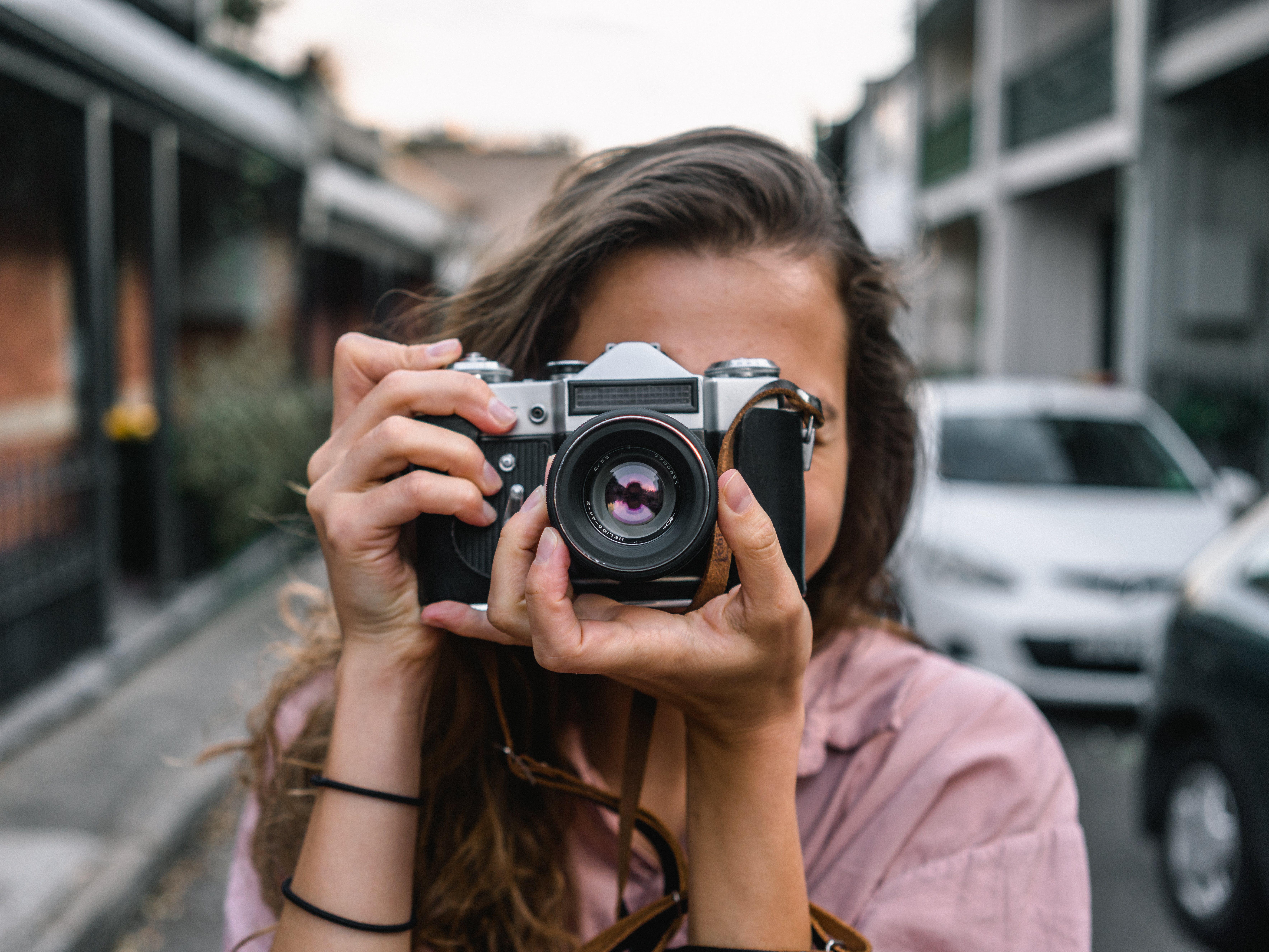 Foto profissional grátis de aparelhos, aproximação, câmera, câmera digital