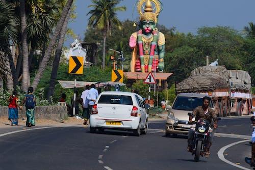 Free stock photo of hindu, india, roads
