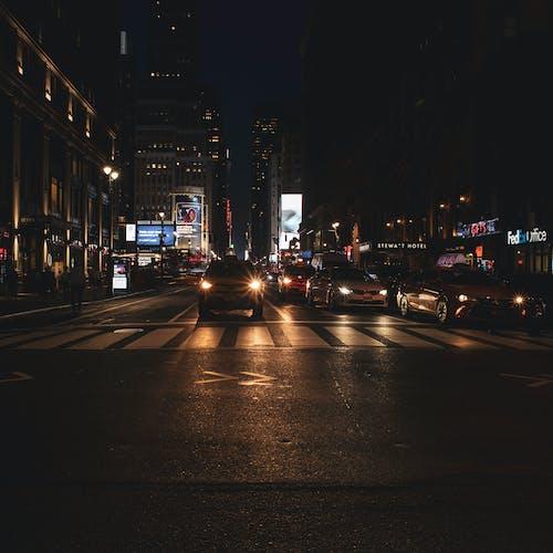 Foto profissional grátis de cânone, EUA, noite, rua