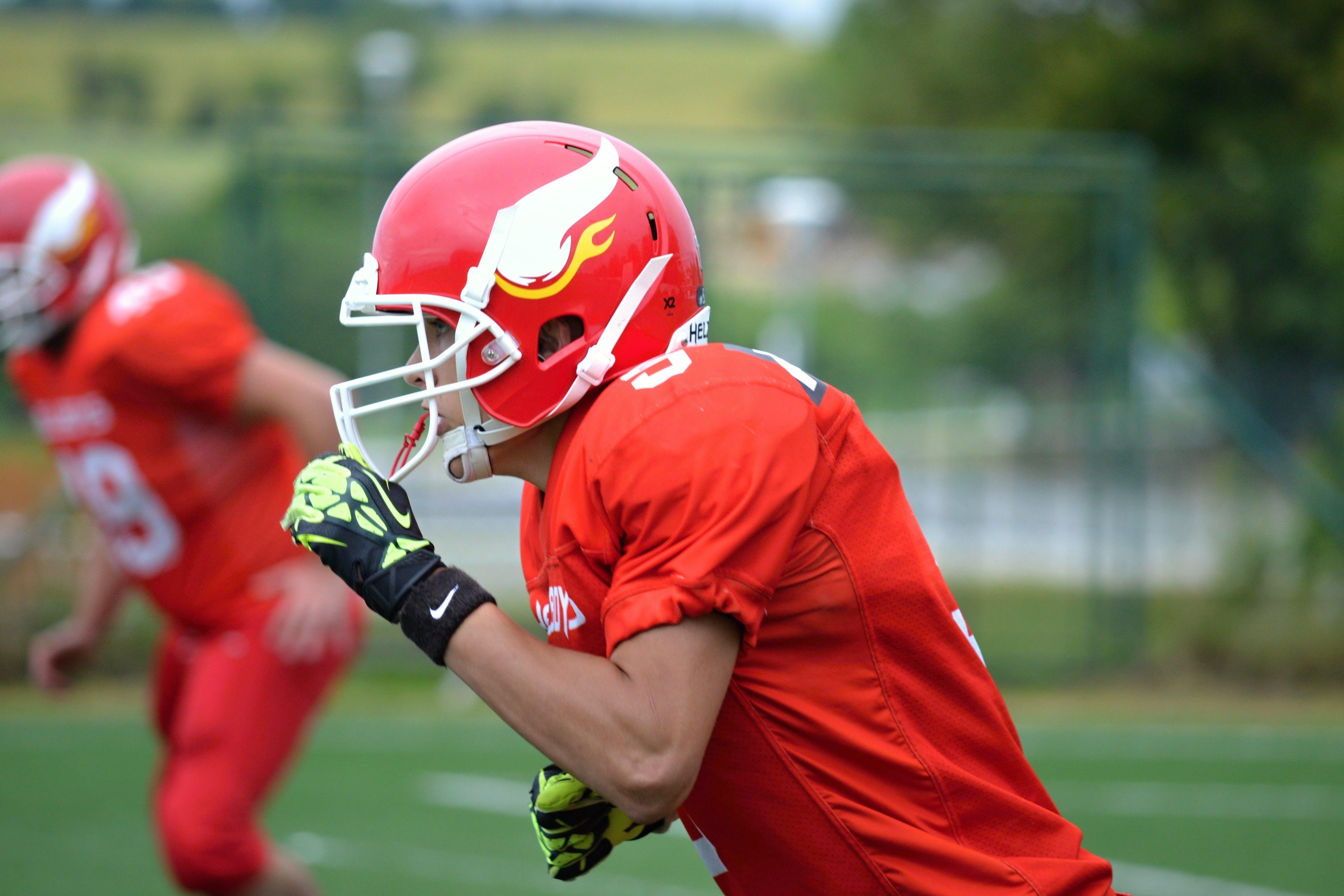 athlete, fight, football
