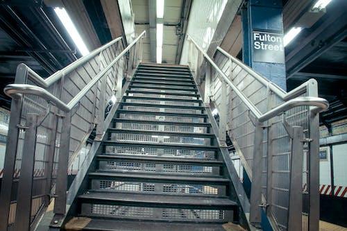 Fotos de stock gratuitas de escaleras, Nueva York, pasos