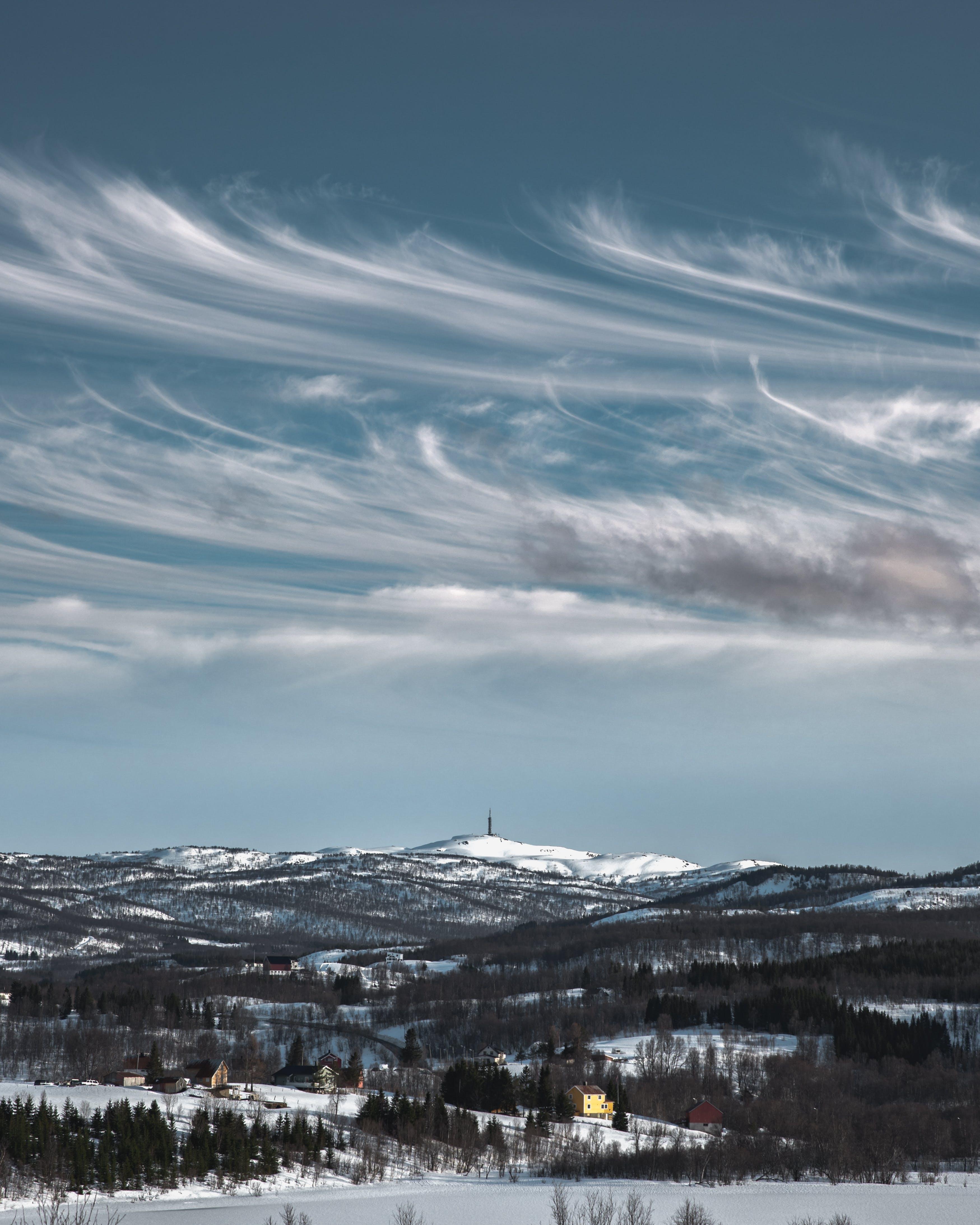 Бесплатное стоковое фото с буря, вода, гора, закат