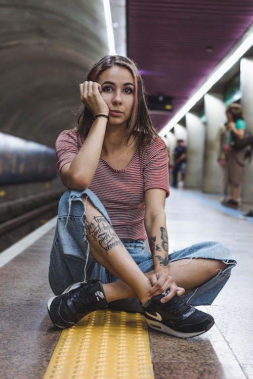 Fotos de stock gratuitas de estación de metro