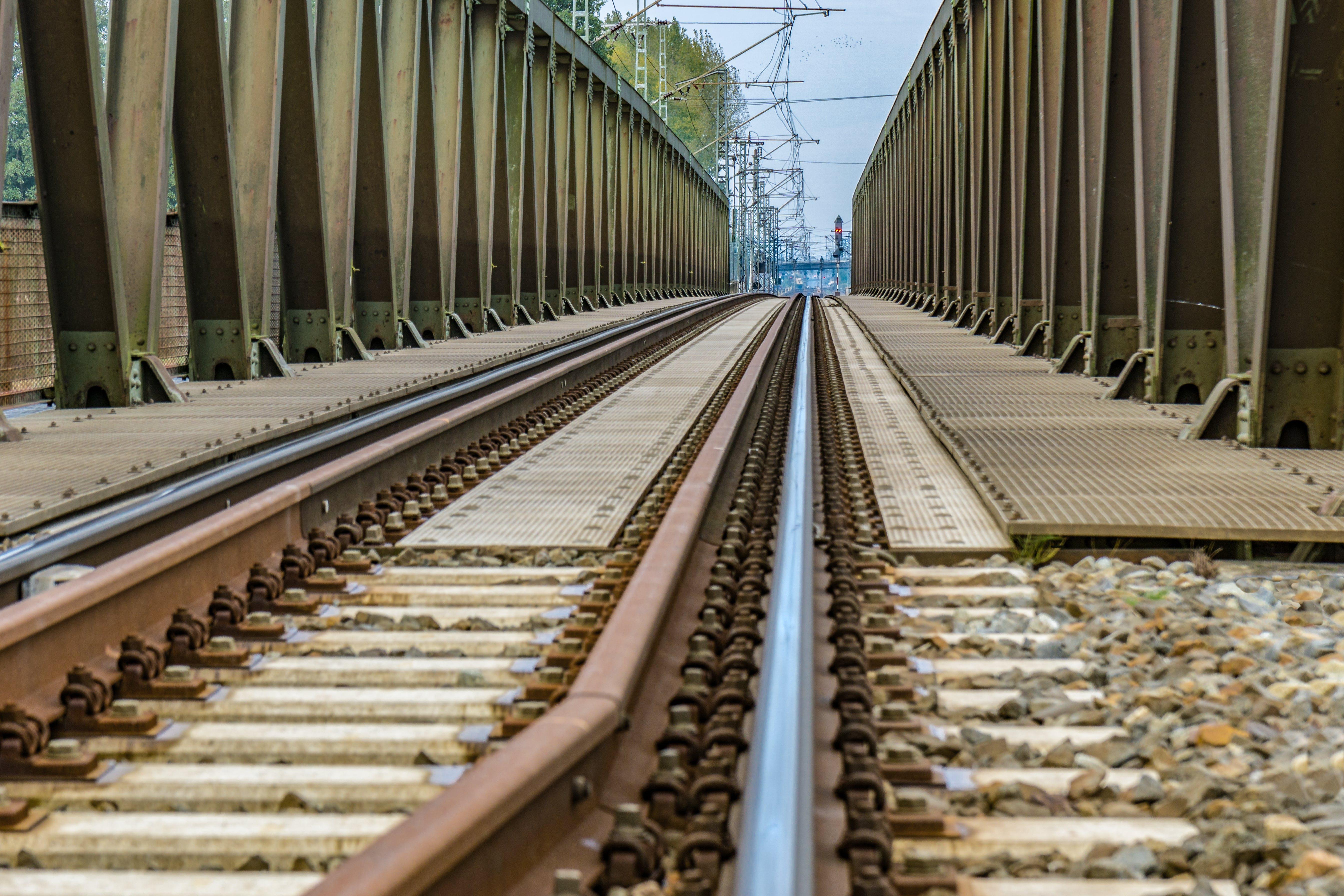 Train Railway Bridge