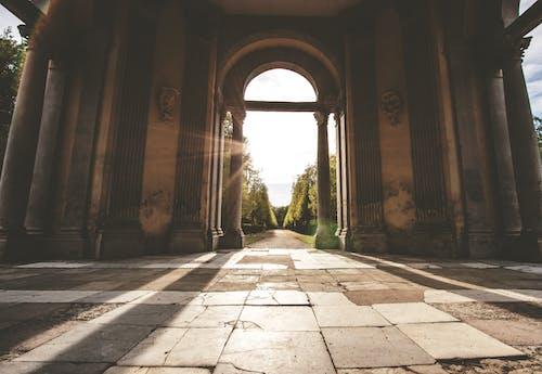 Základová fotografie zdarma na téma architektura, budova, oblouk, stará budova