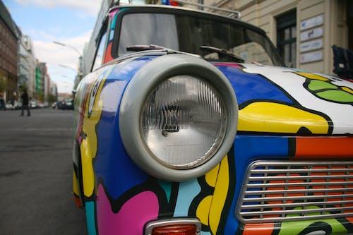 Foto profissional grátis de automóvel, cheio de cor