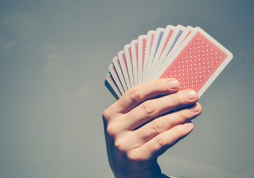 Free stock photo of back, cards, poker, poker cards