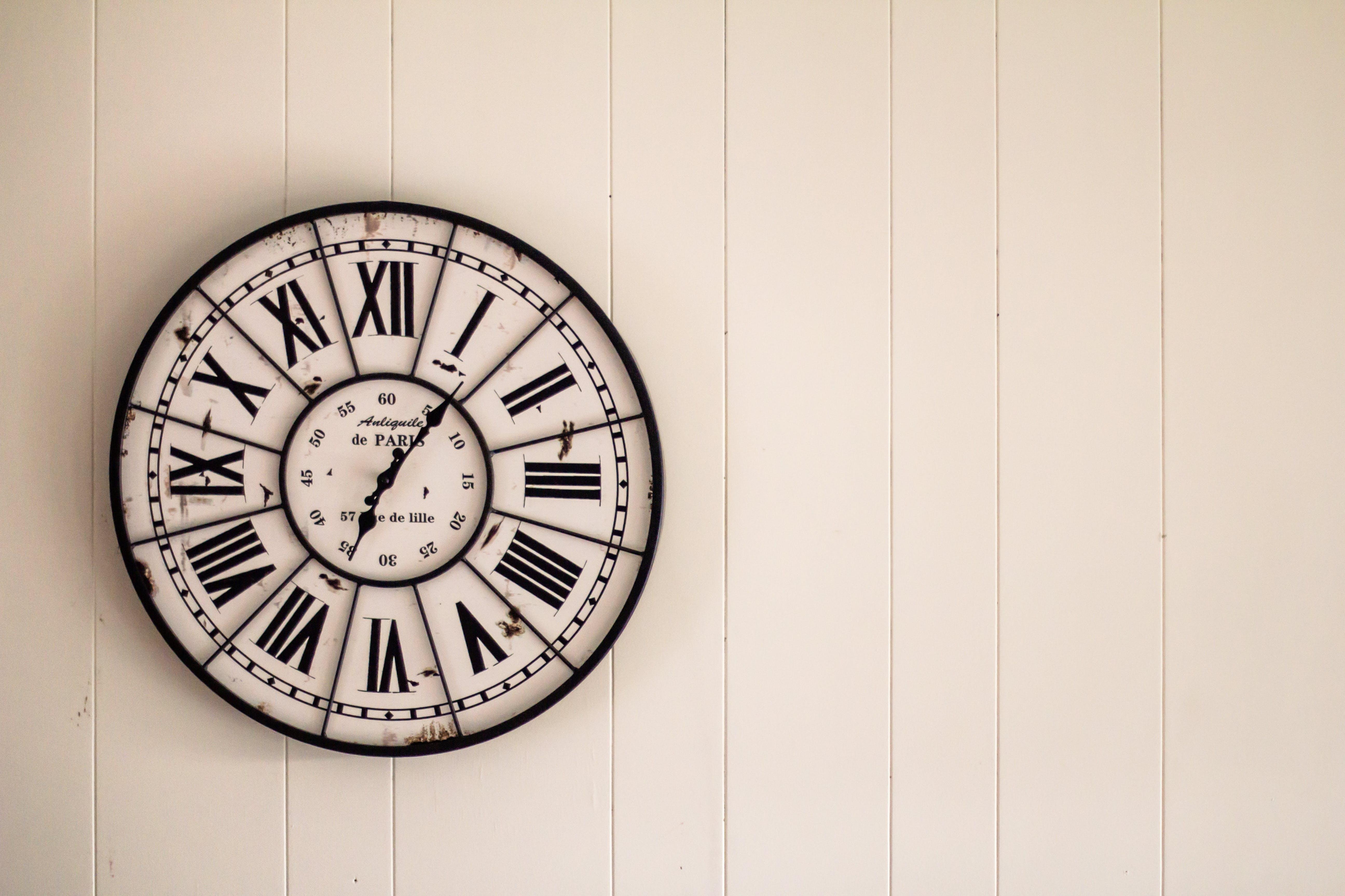 Immagine gratuita di giro, guardare, orologio, orologio da parete