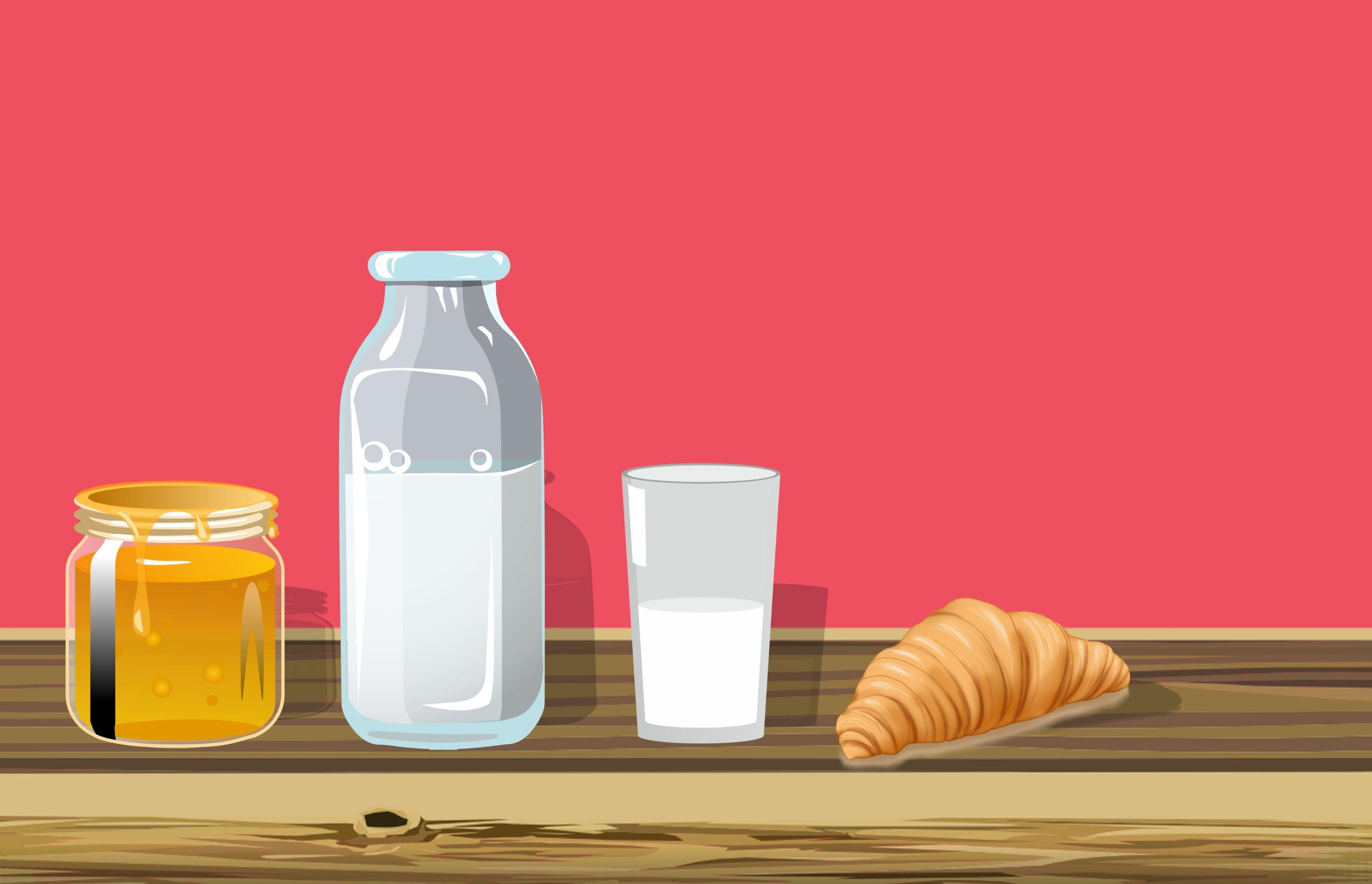 Free stock photo of beverage, breakfast, dairy, delicious milk