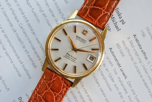 Free stock photo of analog watch, analogue, antique