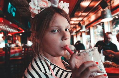 Free stock photo of child, cute, drink