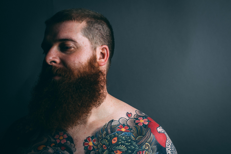 Immagine gratuita di barba, capelli, faccia, maschio