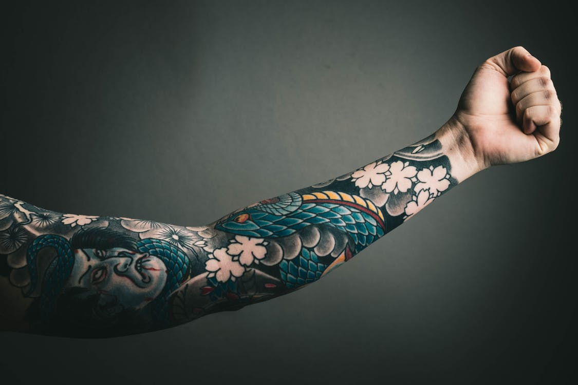 Photo of Left Arm With Tattoo