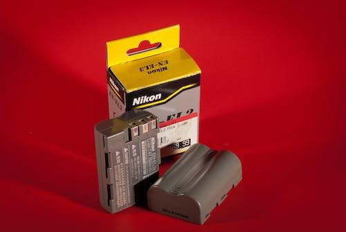 Gratis lagerfoto af batteri, en-el3, nikon