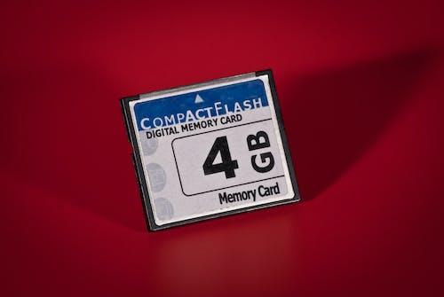 Gratis lagerfoto af 4gb, compact flash, Digital, hukommelseskort