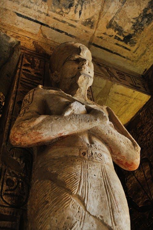 Mummy Sleeping Statue